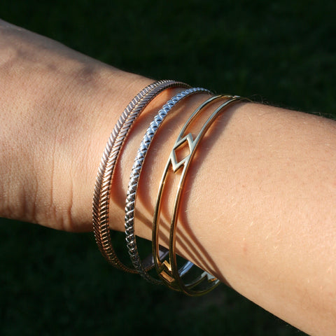 Ribbon Bangle, In-Stock