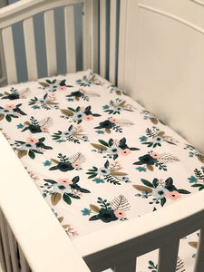 Custom Fitted Crib Sheet