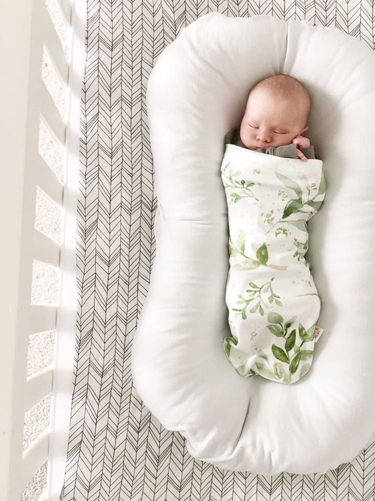 Featherland Fitted Crib Sheet