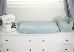 Aegean Sea Bassinet Sheet