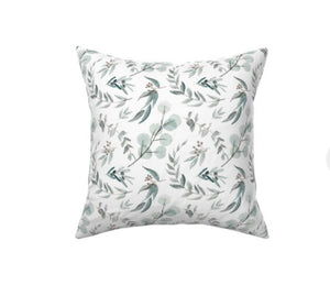 Australian Eucalyptus Decor Pillow Cover