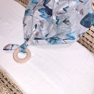 Call of the Mountains Arctic Lovey Teething Blanket