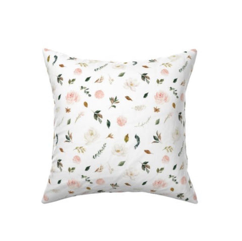 Magnolia Floral Decor Pillow Cover