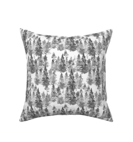 Evergreen Tree Decor Pillow Cover