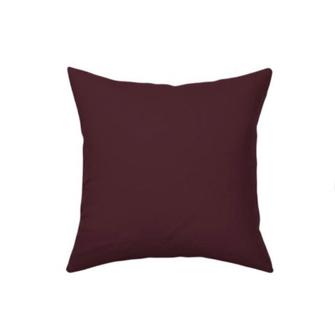 Merlot Decor Pillow Cover