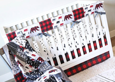 Custom Crib Skirt