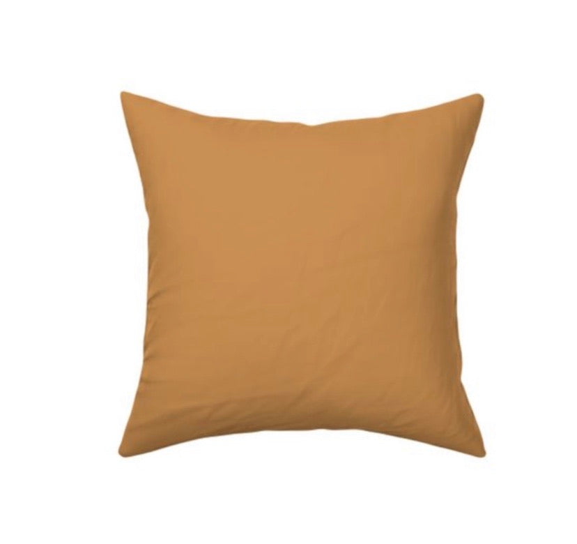 Mustard Decor Pillow Cover