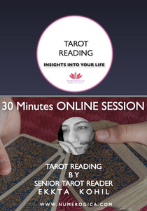 Tarot Reading (30 Minutes Skype Session) - numerogica