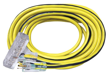 Extension Cords 12/3 Power Block 25', 50' and 100' (Contact us for Custom Printed Cords)