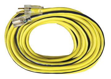 Extension Cords 12/3  25', 50' and 100'  (Contact us for Custom Printed Cords)