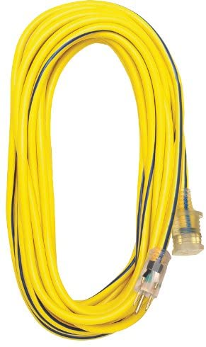 12/3 Extension Cord -  25', 50' or 100'