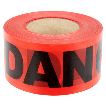 "Red (DANGER DO NOT ENTER) Tape 3""x1000'   3 Mil"