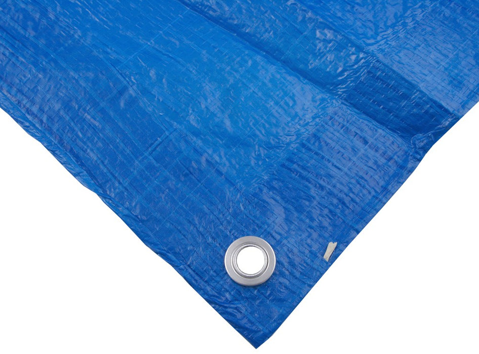 40' x 60' Lightweight Blue Waterproof Tarp