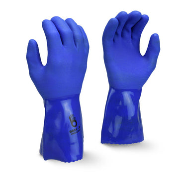 "Nitrile/PVC 12""Triple Dipped Glove"