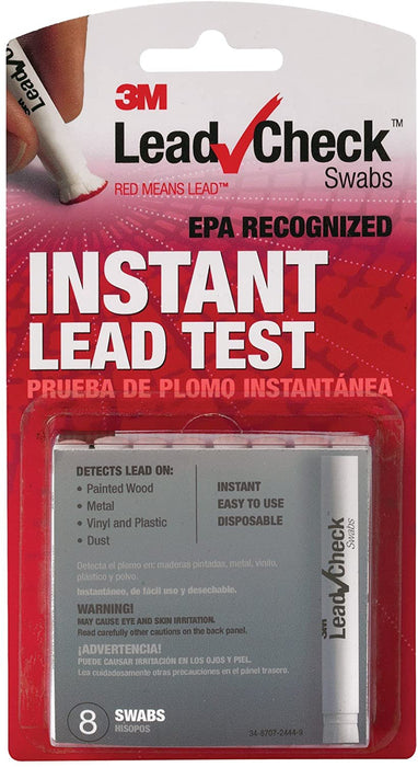 3M Lead Test Kit (Pack of 8)