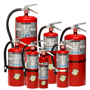 ABC 20S Dry Chemical Fire Extinguisher - Wryker