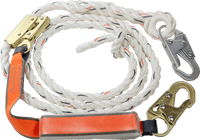 Vertical Lifeline Assembly (25' & 50') with 6' Lanyard