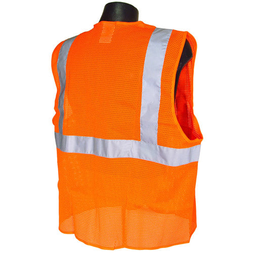 Class 2 Mesh Economy Safety Vest - Wryker
