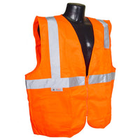 Class 2 Solid Economy Safety Vest - Wryker
