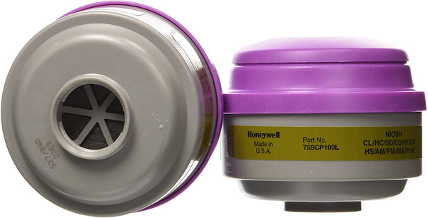 Honeywell Respirator Replacement Filters (Mask Sold Separately)