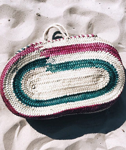 Colorful Oval Bag