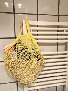 Basket in a net