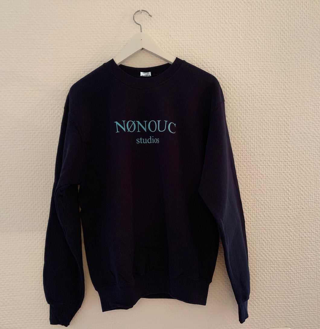 NØNOUC studios Sweater dark blue