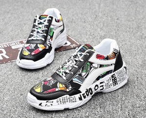 """Graffiti II"" Sneakers"