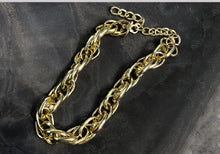 Load image into Gallery viewer, Heavy Metal Chain Choker Necklace