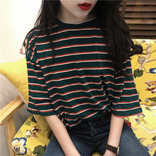 Load image into Gallery viewer, Erin Striped T-shirt