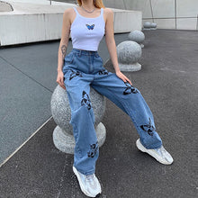 Load image into Gallery viewer, Butterfly  Jeans