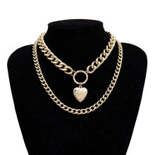 Load image into Gallery viewer, Heart Lover Necklace