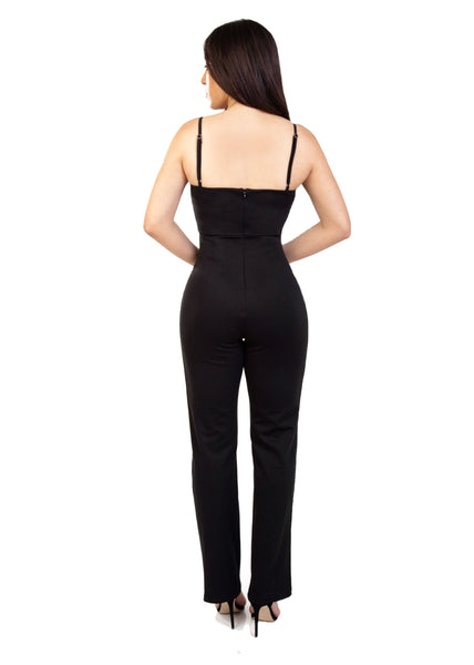 black womens jumpsuit