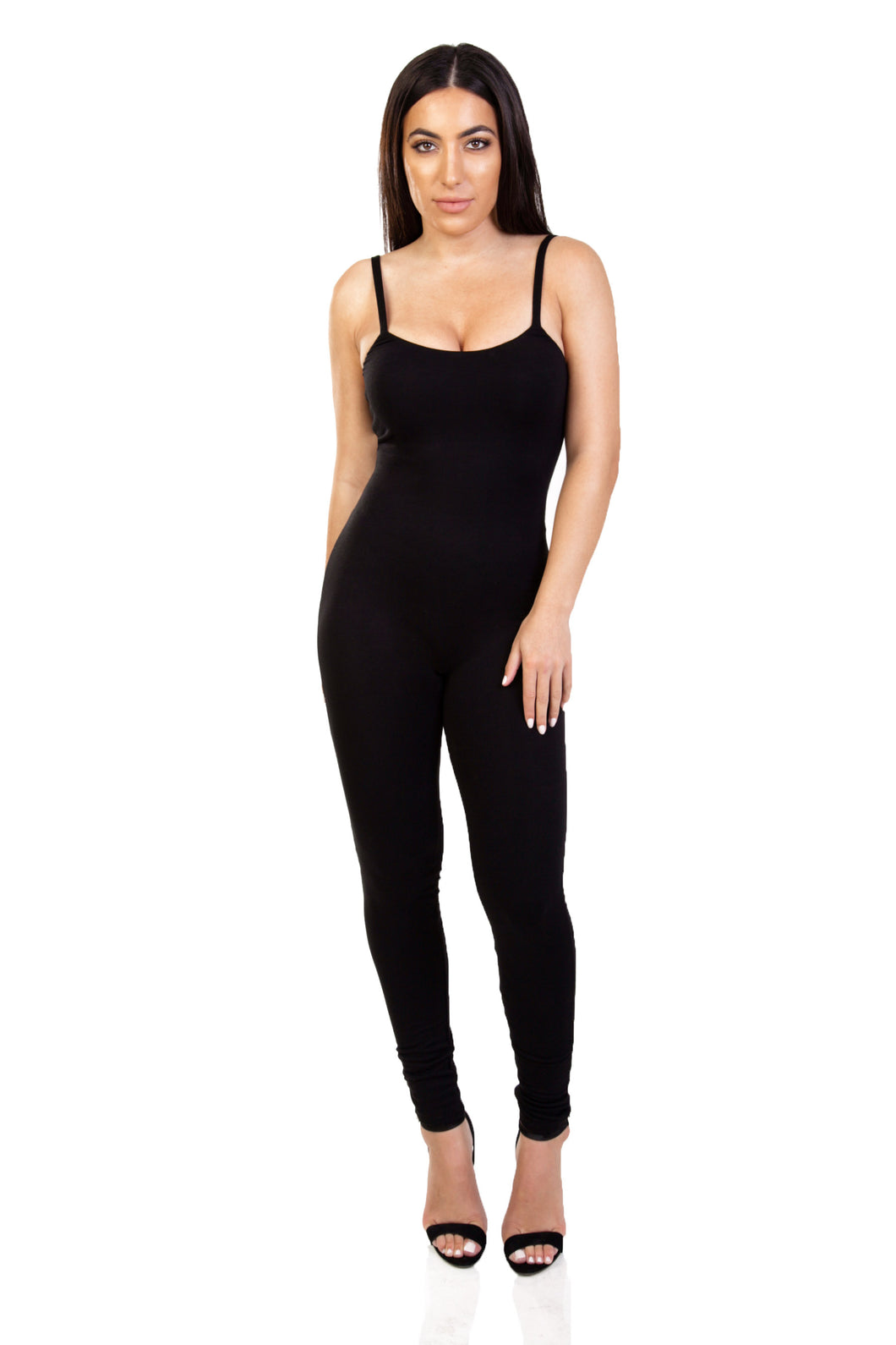 BODY HUGGING JUMPSUIT
