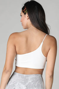 BASIC ONE SHOULDER CROP