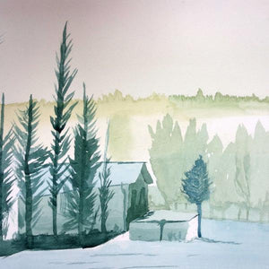 Winter Landscapes in Watercolour - Saturday 7th December, 10am-12pm