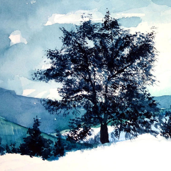 Winter Landscapes in Watercolour - Saturday 7th December, 10am-12pm - Fully Booked!