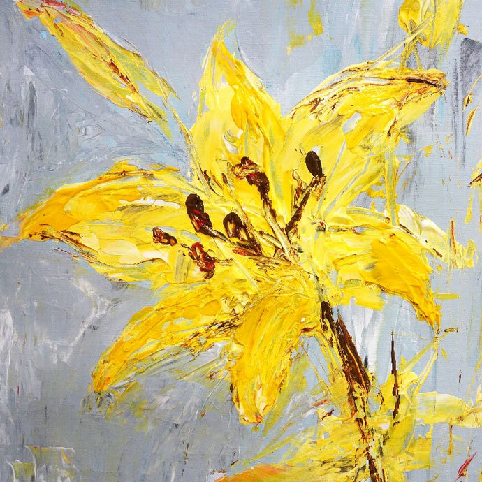Palette Knife Flowers - Saturday 6th June, 10am-12pm