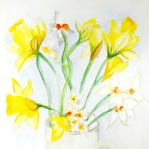 Watercolour Daffodils - Saturday 21st March, 10am-12pm
