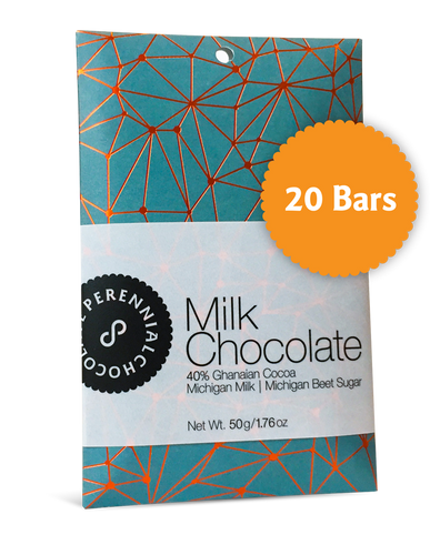 Milk Chocolate Bars - Case