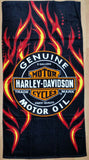 "Harley Davidson Motor Cycles 30"" x 60"" Beach Towel"