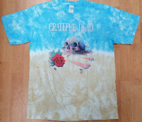 Grateful Dead Desert Skull Tie Dye Men's Shirt