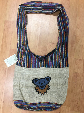 Grateful Dead Bears Hemp Shoulder Bag