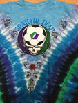 Grateful Dead Playin' in the Field Tie Dye Men's Shirt