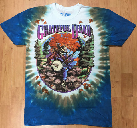 Grateful Dead Banjo Fall Tour Men's Shirt