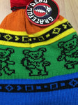 Grateful Dead Bears Winter Ski Knit Hat