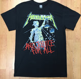 Metallica Justice for All Men's Black Shirt