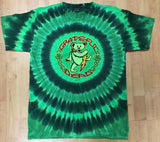 Grateful Dead Shamrock Tie Dye Men's Shirt