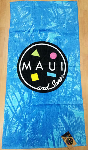 Maui and Sons Palm Trees Beach Towel