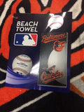 MLB Baltimore Orioles Beach Towel